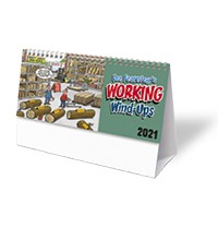 Lee Fearnley's Working Wind-Ups Desk Calendar