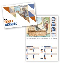 Funny Business Postage Saver Calendar