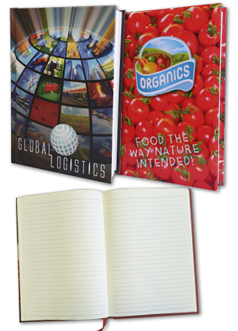 Full Colour Casebound Notebooks